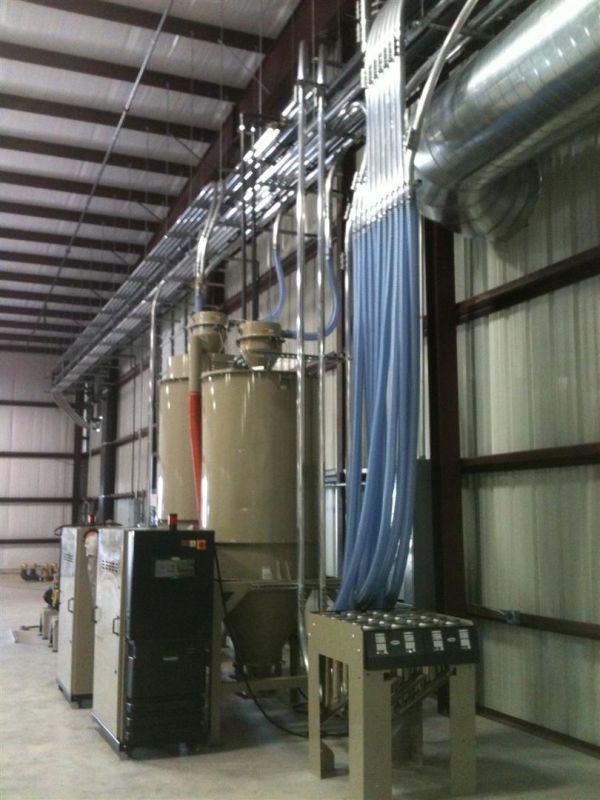 Plastics Material Handling Equipment & Installation Service